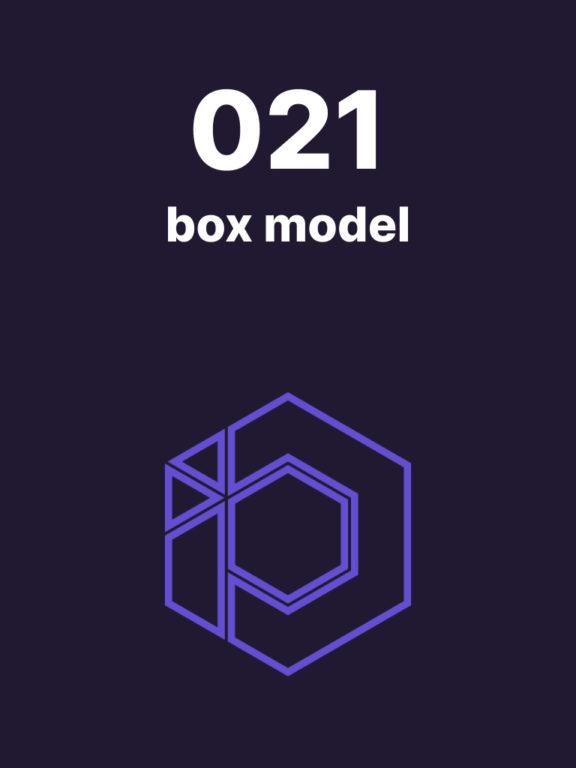 021 – Les éléments autour de CSS Box Model