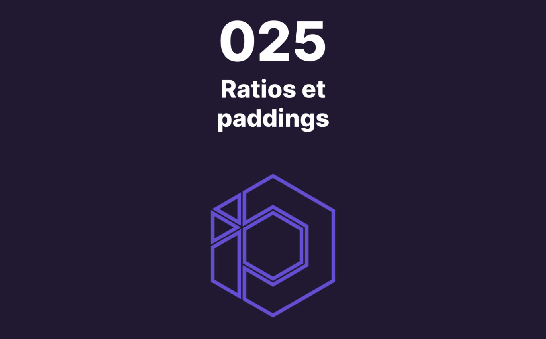 025 – Gérer le ratio d'image avec CSS (16:9, 4:3, 1:1, etc)