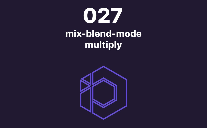 027 – Retirer le fond d'un logo en CSS avec mix-blend-mode